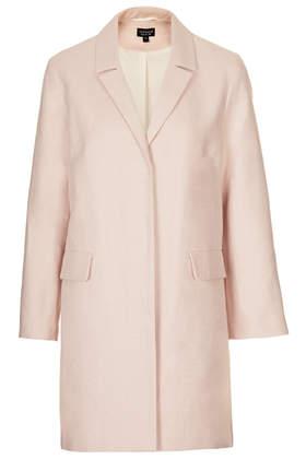 currently craving, pink coat, winter coat
