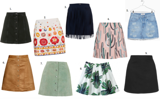 currently craving, mini skirts, 70s style