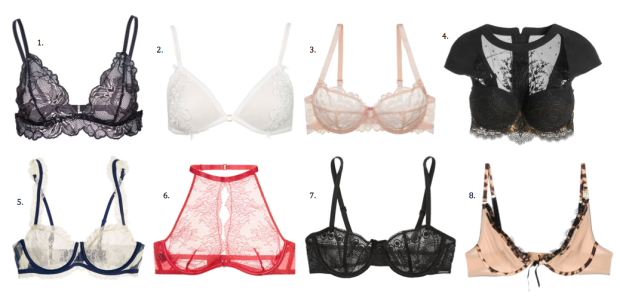 lingerie as outerwear, lingerie, bras, currently craving
