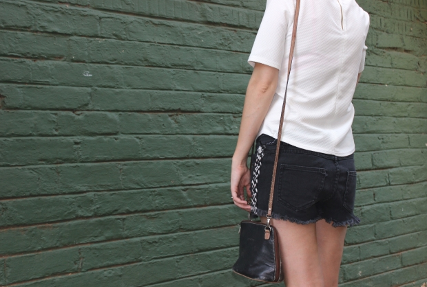 black fraye shorts